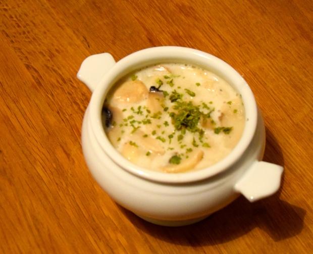 Champignon-Creme Suppe