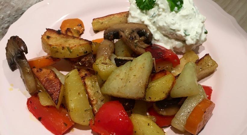 Gemüse aus dem Mulex Grill