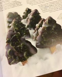 Minz-Schoko-Tannenbäumchen aus dem Thermomix