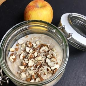 Apfel Porridge aus dem Thermomix von Vorwerk TM5 von Thermiqueen