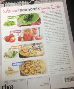 Wochenkalender Doris Muliar Thermomix TM5 Vorwerk 2017
