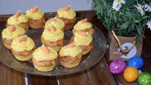 Karotten Cupcakes aus dem Thermomix